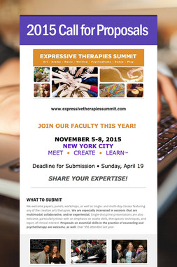 2015 Call for Proposals