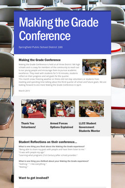 Making the Grade Conference
