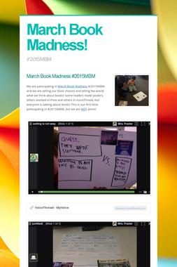 March Book Madness!