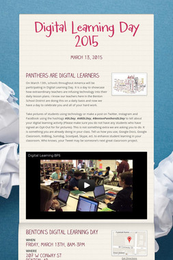 Digital Learning Day 2015