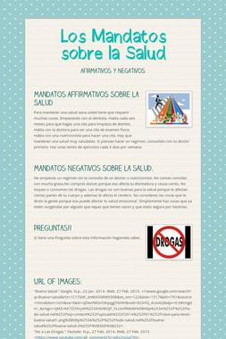 Los Mandatos sobre la Salud