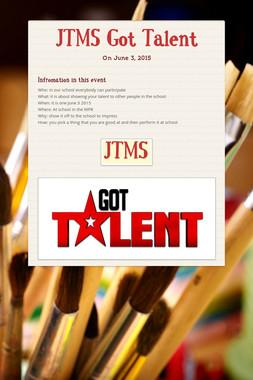 JTMS Got Talent
