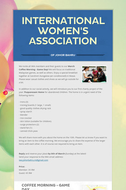 International Women's Association