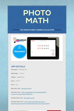 Photo Math