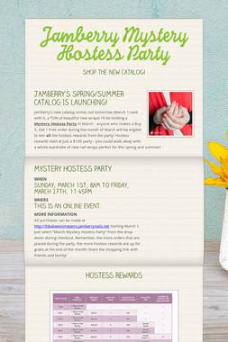 Jamberry Mystery Hostess Party