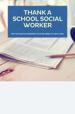 Thank a School Social Worker