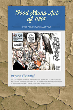 Food Stamp Act of 1964