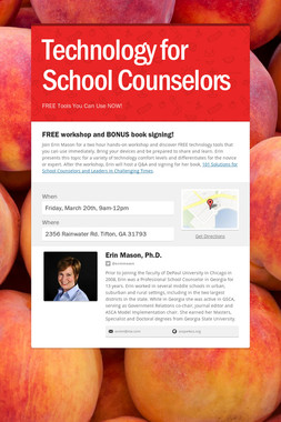 Technology for School Counselors