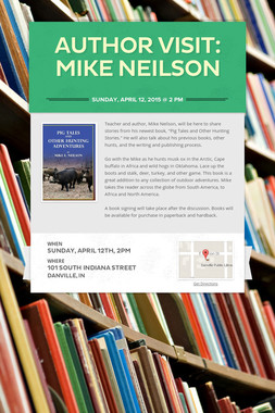 AUTHOR VISIT: MIKE NEILSON