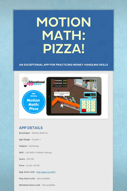 Motion Math: Pizza!