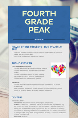 Fourth Grade PEAK