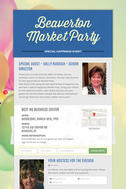 Beaverton Market Party