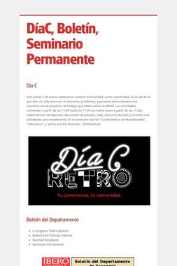 DíaC, Boletín, Seminario Permanente