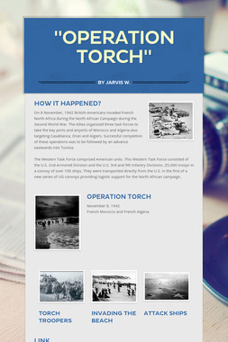 """""""Operation Torch"""""""