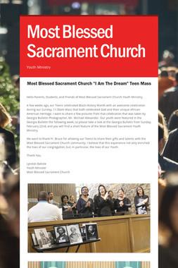 Most Blessed Sacrament Church