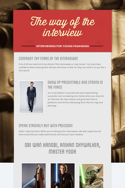 The way of the interview