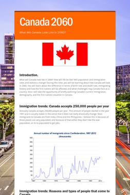 Canada 2060
