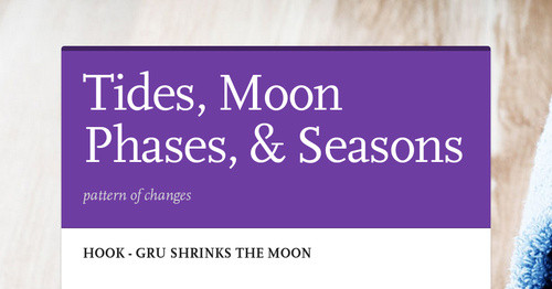 Tides, Moon Phases, & Seasons   Smore Newsletters