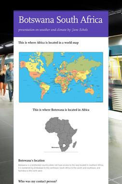 Botswana South Africa
