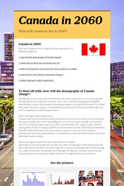 Canada in 2060
