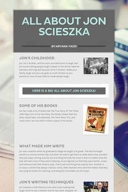All About Jon Scieszka