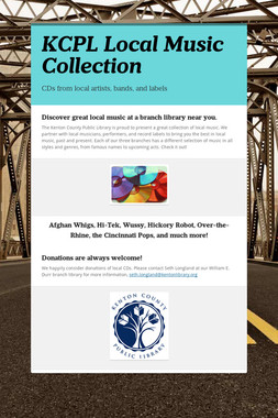 KCPL Local Music Collection