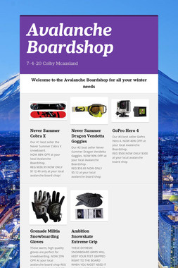 Avalanche Boardshop