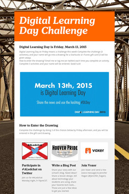 Digital Learning Day Challenge
