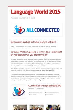 Language World 2015