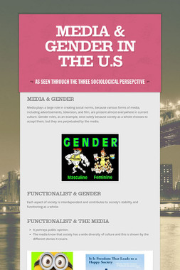 Media & Gender in the U.S