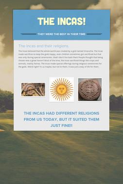 The Incas!