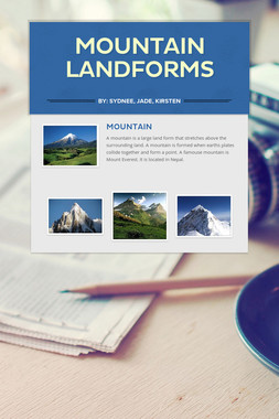 Mountain Landforms