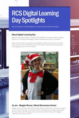 RCS Digital Learning Day Spotlights