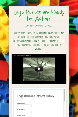 Lego Robots are Ready for Action!