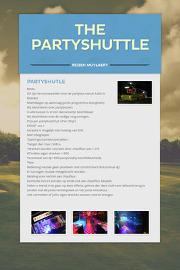 THE PARTYSHUTTLE