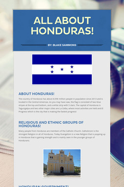 All About Honduras!
