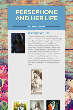 Persephone and Her Life