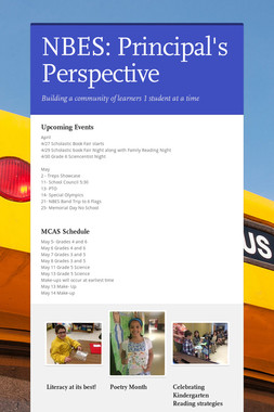 NBES: Principal's Perspective