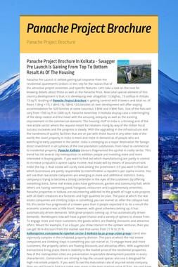 Panache Project Brochure