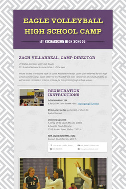 EAGLE VOLLEYBALL HIGH SCHOOL CAMP