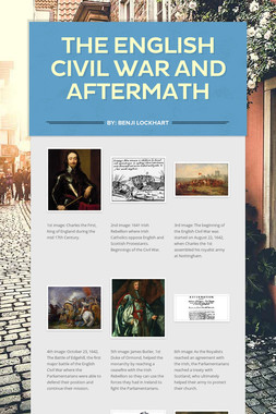 The English Civil War and Aftermath