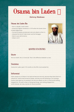 Osama bin Laden  👳