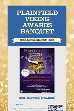 Plainfield Viking Awards Banquet