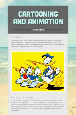 Cartooning and Animation