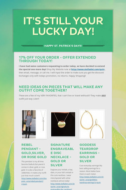 It's STILL Your LUCKY Day!