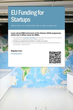 EU Funding for Startups