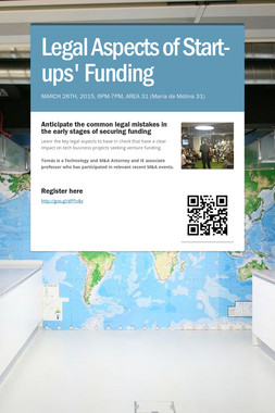 Legal Aspects of Start-ups' Funding