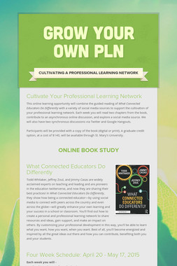 Grow Your Own PLN