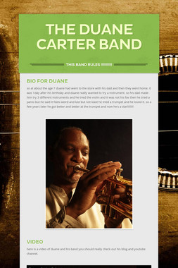 The Duane Carter Band