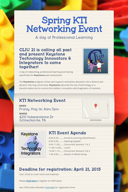Spring KTI Networking Event